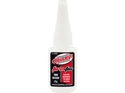 Corally vteřinové lepidlo Tire-Fix na pneu 25ml